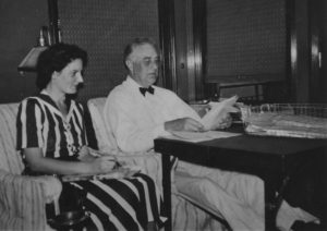FDR and Dorothy Brady