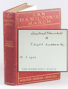 Inscribed copy of Ian Hamilton's March