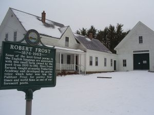 Robert Frost sign