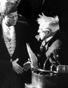 Robert Frost and JFK