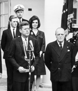 JFK and Randolph Churchill