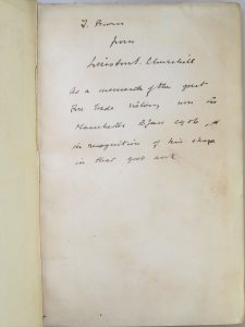 Churchill inscription