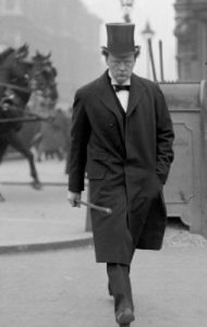 Churchill in top hat