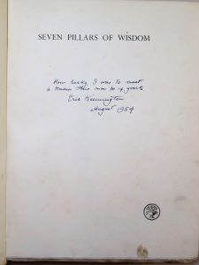 Half title page