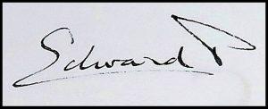 Prince Edward signature