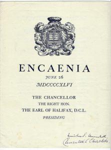 Encaenia cover