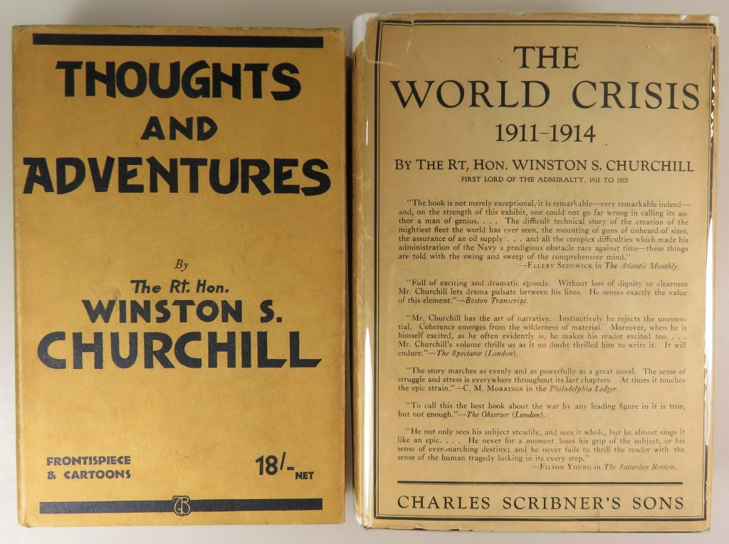 Thoughts and Adventures, and The World Crisis 1911-1914