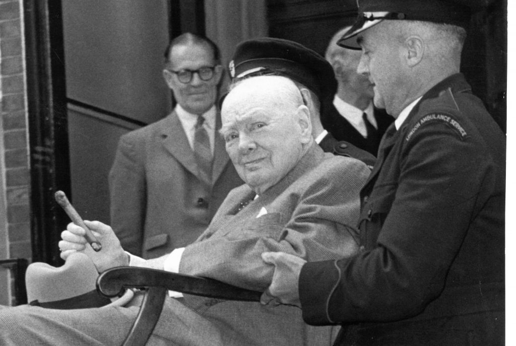 Churchill in his final years